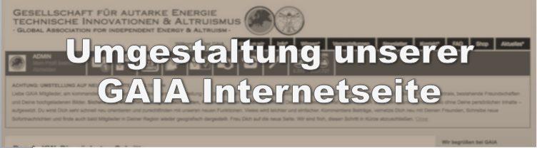 Unsere neue Internetseite