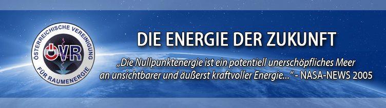 Informationen der Österreichischen Vereinigung für Raumenergie (ÖVR)