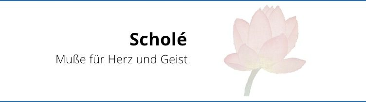 Rundbrief an Scholé-Freunde