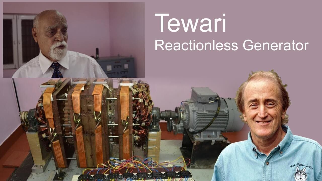 Tewari Frictionless Generator